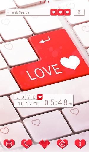 玩免費遊戲APP|下載LOVE Enter+HOME無料きせかえ app不用錢|硬是要APP