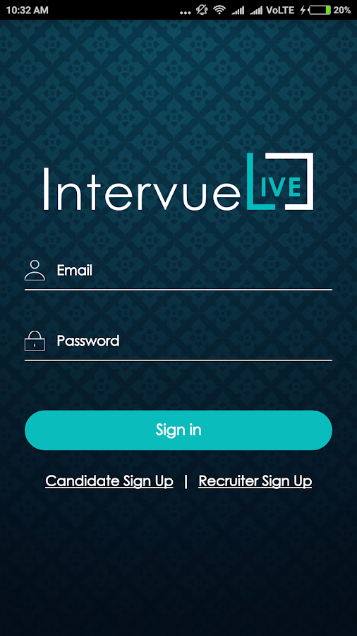 IntervueLive- screenshot