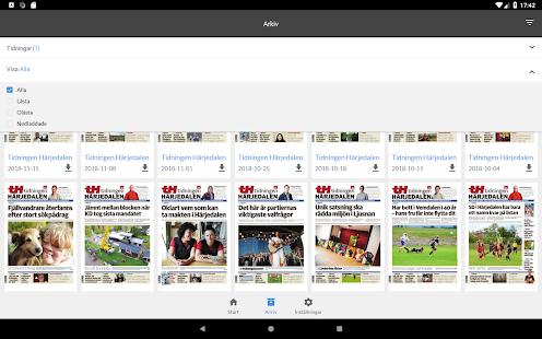 Tidningen Hrjedalen e-tidning Apps on Google Play
