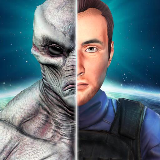 Secret Agent Vs Alien Invasion: Free Shooting Game
