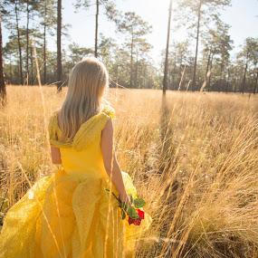Belle in he woods by Jack Goras - Babies & Children Children Candids