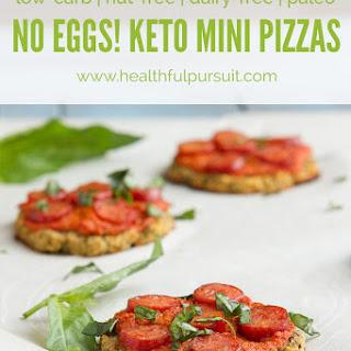 No Eggs! Keto Mini Pizzas