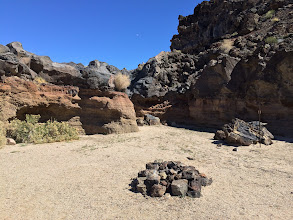 Photo: Lava dry fall, end of this road,iPhone 5S.