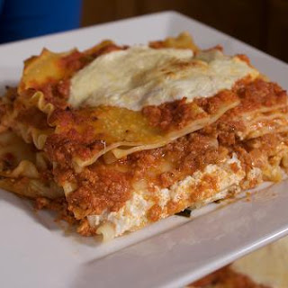 Lasagna with Three Cheeses