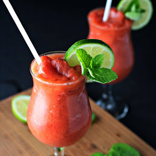 Frozen Watermelon Nojito