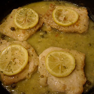 Lemon Pork Piccata