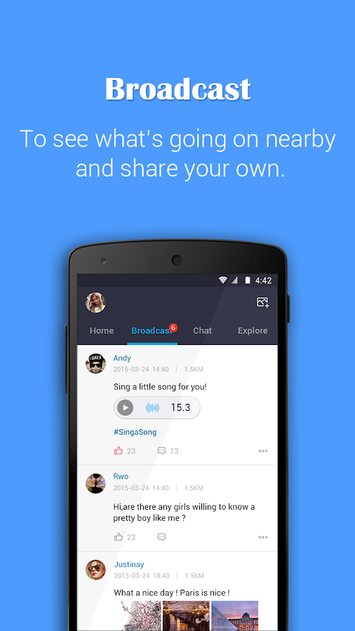 PalmChat- Chat, Love, Dating ! - screenshot