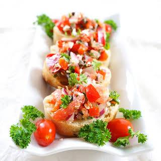 Mediterranean Bruschetta Spread.