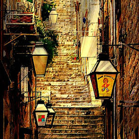 Dubrovnik by Dunja Dretvić - City,  Street & Park  Street Scenes