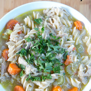 HomemadeChicken Noodle Soup