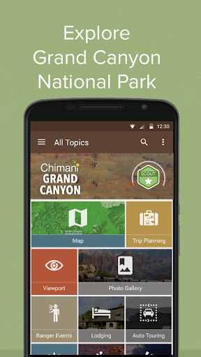 玩免費旅遊APP|下載Grand Canyon Ntl Park: Chimani app不用錢|硬是要APP