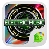 Electric Music Keyboard Theme