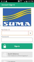 Screenshot of SUMA FCU Mobile