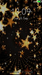 Gold Live Wallpapers ( Lock Screen ) - náhled