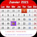 Français Calendrier 2021 icon