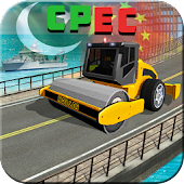 Build CPEC Route -  Long Highway Construction Sim