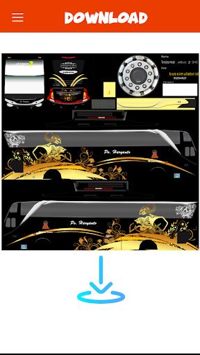 Livery Bussid PO Haryanto V2 1 screenshots 4