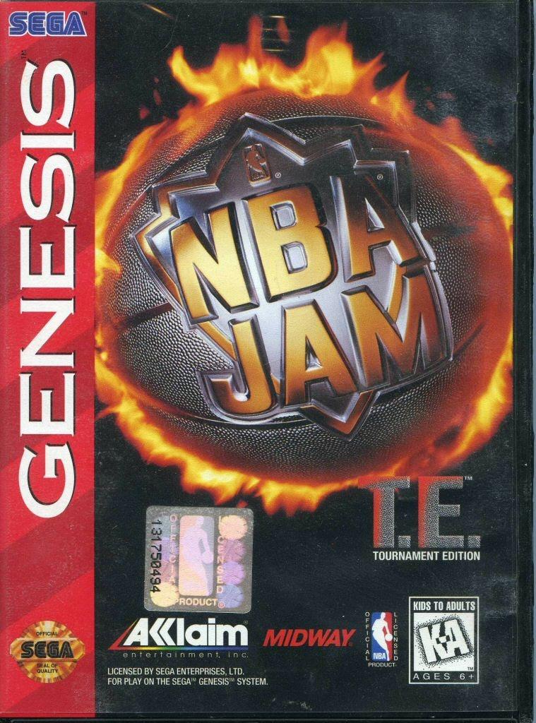 Video game:Sega Genesis NBA Jam: Tournament Edition - Sega of