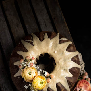 Honey Bundt Cake with a Browned Butter Glaze.