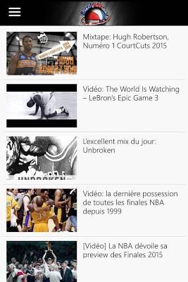 Basket Infos - screenshot