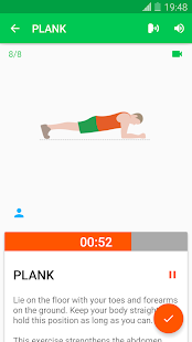 30 Day Fitness Challenge - Workout at Home- screenshot thumbnail