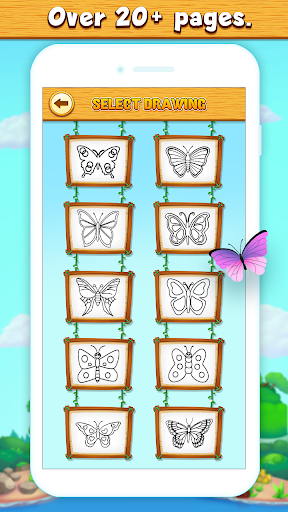Butterfly Coloring Book Pages 2.0.0 screenshots 2