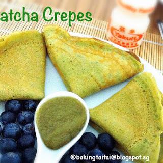 Matcha Crepes 抹茶可丽饼.