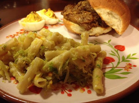 Fried Cabbage Pasta Recipe