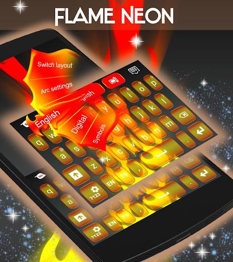 玩免費娛樂APP 下載火焰霓虹色键盘 app不用錢 硬是要APP