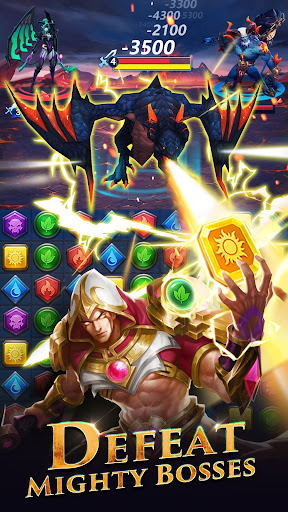 Wars & Puzzles:Heroes Match 3 screenshots 3