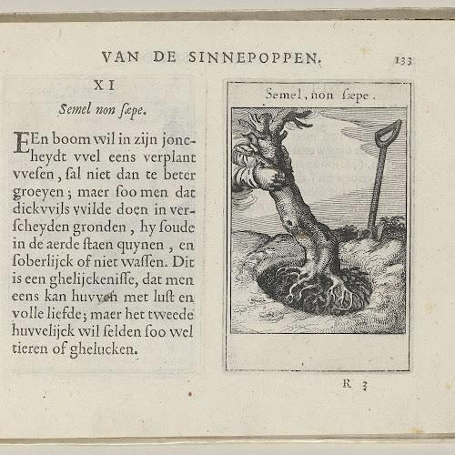 XI Semel, non saepe, Roemer Visscher, 1614 - Rijksmuseum