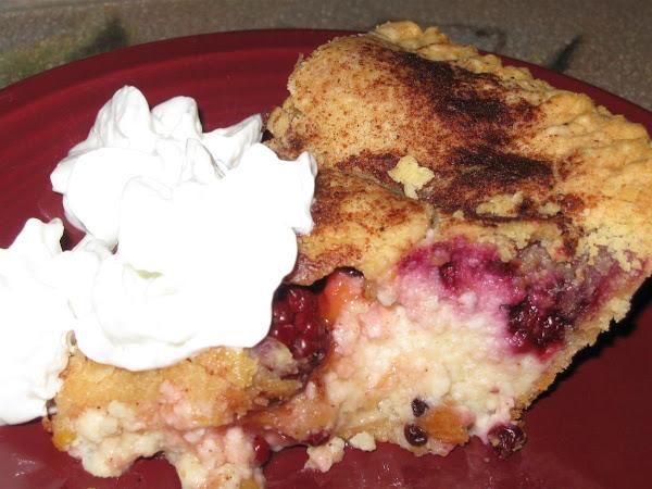 Blackberry Peach Dreamy Creamy Pie Recipe
