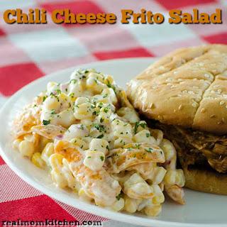 Chili Cheese Frito Salad.