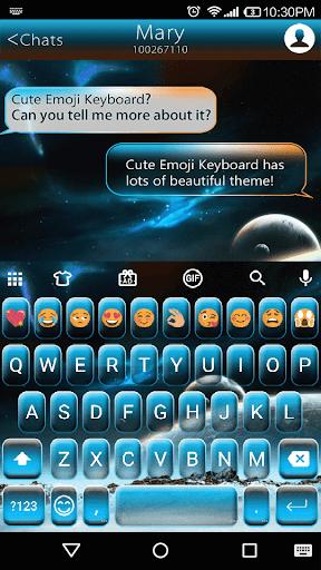 Galaxy Photo Emoji Keyboard