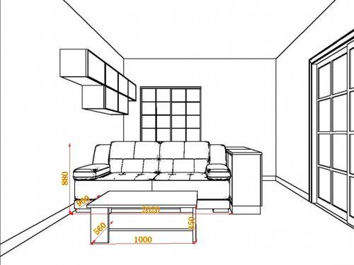 bản vẽ sofa