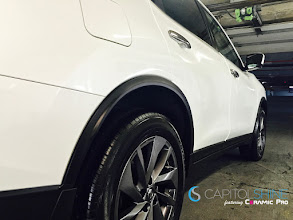 Photo: Check out the shine on this 2016 Nissan Murano which recently received Capitol Shine's Ceramic Pro Gold package http://www.capitolshine.com/ceramic-pro-packages