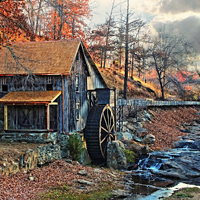 Gresham's Mill, Canton GA by JEFFREY LORBER - Buildings & Architecture Decaying & Abandoned ( mill, lorberphoto, decaying mill, decaying building, greshams mill, jeffrey lorber,  )