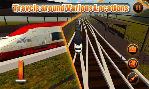 【免費模擬App】子彈頭列車站3D-APP點子