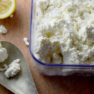 Ricotta Cheese from Scratch