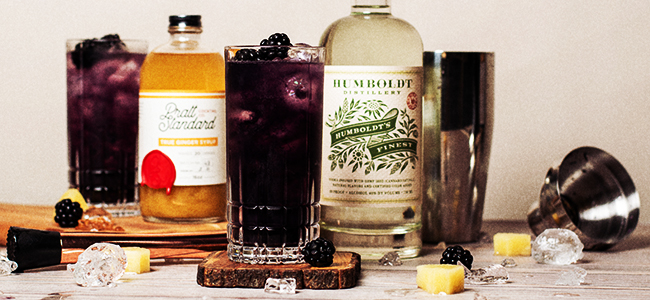 Try This Craft Cocktail, Humboldt's Bramble