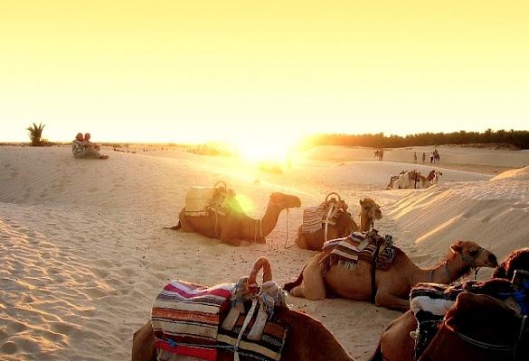 Tramonto nel Sahara di victor76