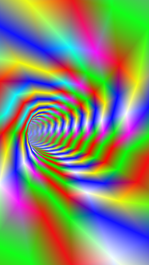Tunnel 5D Journey - Psychedelic Music Visualizer- screenshot