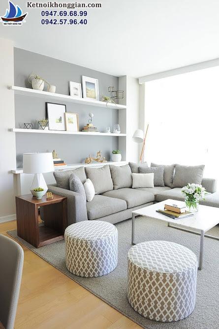 thiết kế nội thất phòng khách sang trọng hàng đầu