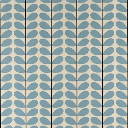 Two Colour Stem av Orla Kiely - powder blue