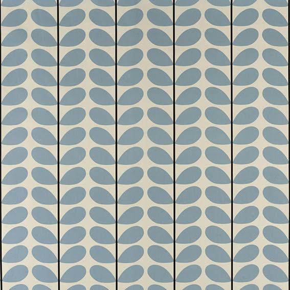 Two Colour Stem av Orla Kiely - powder blue