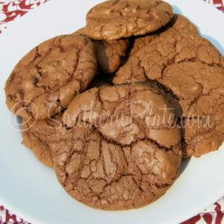 Chocolate Chocolate Chip Cookies.
