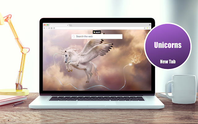 *NEW* HD Unicorn Wallpapers New Tab Theme
