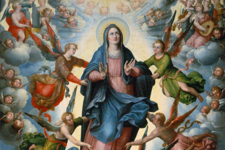 KINH TRUYỀN TIN: Lễ Đức Mẹ Lên Trời