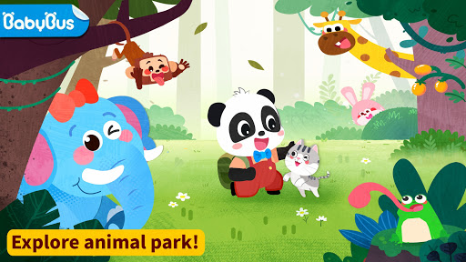 Baby Panda's Animal Park screenshots 1