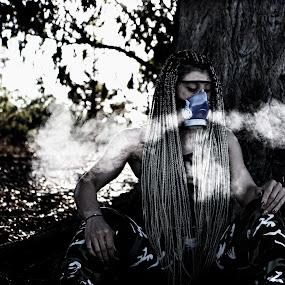poison-laden world by Berkan Felek - Black & White Portraits & People